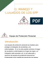 CAPACITACION PARA EL USO Y MANEJO DE LOS EPPS.ppt
