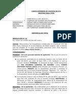 02669-2013 - Desalojo Por Posesion Precaria - Sentencia Vista - Revocaron y Declararon I - Paitan Cahua