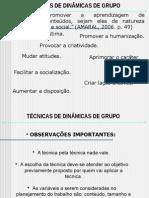 Processos de Dinamicas de Grupo