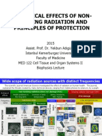Biological Effects of Non ionizing Radiation Protect
