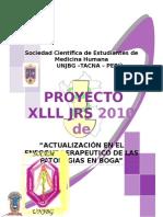 Proyecto Xiii Jrs Tacna - 2010