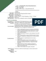 UT Dallas Syllabus for ce6378.001.10s taught by Ravi Prakash (ravip)