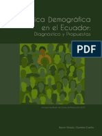 INEC - Estadística Demográfica en El Ecuador - Junio 2012