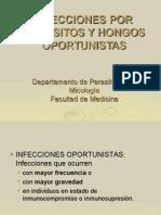 Infecciones Por Parásitos y Hongos Oportunistas