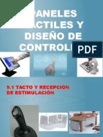 Exposición Paneles Tactiles y Diseño de Controles