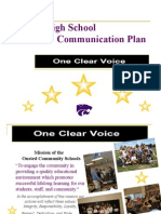 ocs communication plan