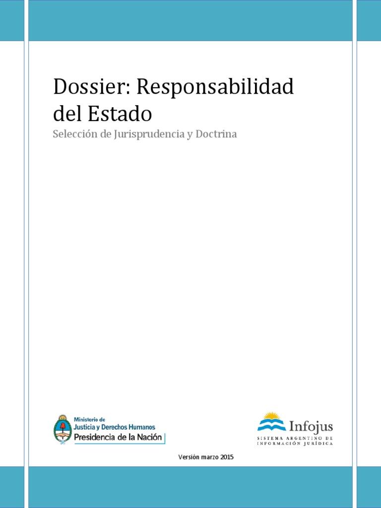 Responsabilidad Estado