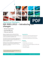ISO9001 2015 Introducing the Changes
