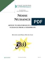 Noise Booklet