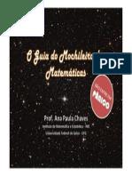 O Guia do Mochileiro da Matemática