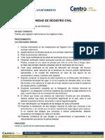 Trámites Registro Civil Registro de Matrimonio