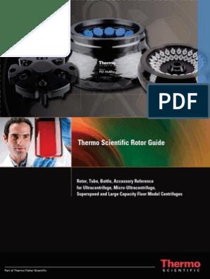 Thermo Scientific Rotor Guide
