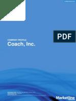Coach Company Profile