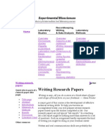 Skill of Writing Research