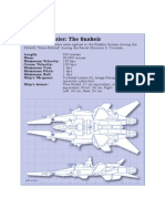 Wing Commander Ships Blueprints
