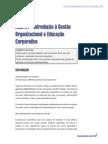 Gestão Organizacional e Educação Corporativa