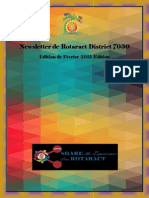 District Newsletter February 2015 (French)