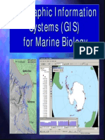 GIS for Marine Biology