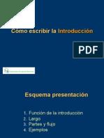 Cómo redactar la introducción de un artículo científico