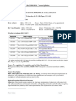 UT Dallas Syllabus for biol3302.001.10s taught by John Burr (ukrish, burr)