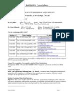 UT Dallas Syllabus for biol3302.001.10s taught by John Burr (ukrish, burr)