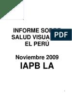 INFORME SOBRE SALUD VISUAL EN EL PERU