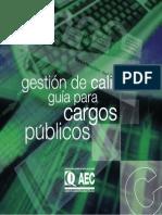 Gestión de Calidad- Guía Para Cargos Públicos
