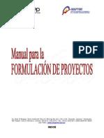 Manual de Proyectos INAPYMI