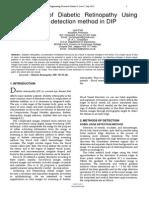 Researchpaper Detection of Diabetic Retinopathy Using Sobel Edge Detection Method in DIP
