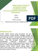 Pemanfaatan Limbah Udang (Penaeus Sp) Sebagai Alternatif Bahan Pengolahan Kerupuk Untuk Mengurangi Resiko Pencemaran Lingkungan