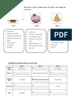 Worksheet Writing2 Unit 2