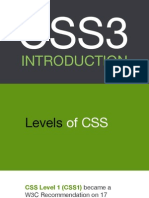 Css3 Introduction