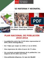 1. Mortalidad Materna y Neonatal