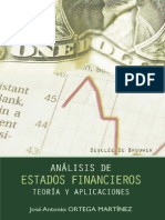 Analisis de Estados Financieros_ TeorAa - Ortega MartAnez, JosA(c) Antonio(Author)