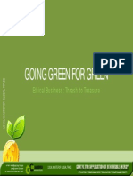 Going Green for Green Paper Processing