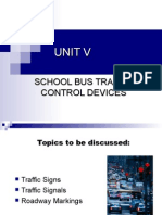 5-Traffic Control Devices