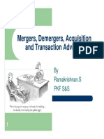 Merger Demerger Acquisiiton and Transaction Advisory
