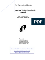 Construction Design Standards Manual
