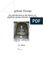 Algebraic Groups- An Introduction to the Theory of Algebraic Group Schemes Over Fields