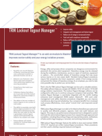TRM Lockout Tagout Manager Brochure