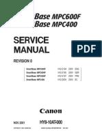 Canon SmartBase MPC400, MPC600F Service Manual