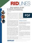 REgulatory Design
