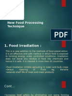 New Food Processing Technique