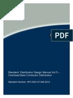 HPC 5DC 07 0005 2012 Distribution Design Manual Vol 5v1
