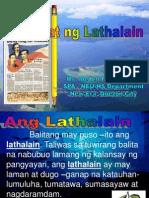 Pagsulat Ng Lathalain PPT