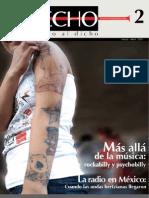 Revista Trecho 2 - La radio en México y el Arte Urbano - Marzo a Mayo de 2009
