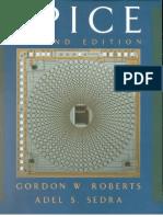 [Gordon W Roberts[1]  SPICE