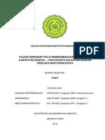 Pkm-p Kajian Terhadap Pola Permukiman Dusun Ngibikan