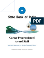 Sbi Career Progression