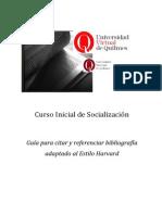 Guia Para Citar y Referenciar Bibliografia Estilo Harvard[2] Copy Copy